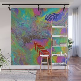 Floating to Earth Wall Mural