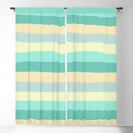 lumpy or bumpy lines abstract and summer colorful - QAB271 Blackout Curtain