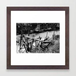 Old Fishing Fleet - King's Lynn, UK. Framed Art Print