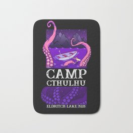 Camp Cthulhu Bath Mat