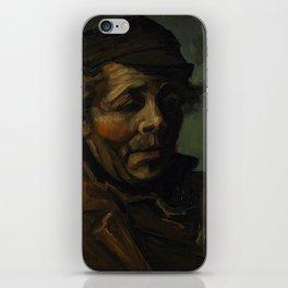 Vincent Van Gogh Head Of A Peasant iPhone Skin