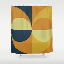Geometry Games Shower Curtain