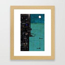 Urbanizacion 3 Framed Art Print