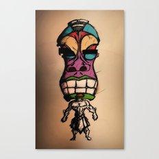 Mr.Tiki Canvas Print