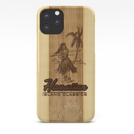 Tradewinds Hawaiian Island Hula Girl iPhone Case