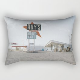 Roys Motel and Cafe | Route 66 Rectangular Pillow