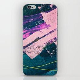 Wonder. - A vibrant minimal abstract piece in jewel tones by Alyssa Hamilton Art iPhone Skin