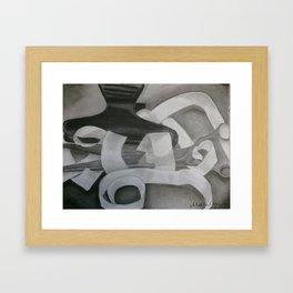 Hairdresser Tools Framed Art Print