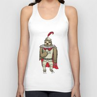 sloth Tank Tops featuring Sloth  by Artifact Supply