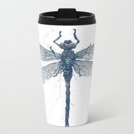 Dragonfly Metal Travel Mug