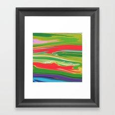 Summer Grass Framed Art Print