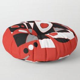 Abstract #915 Floor Pillow