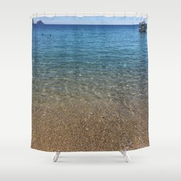 Ocean WaterColors Shower Curtain