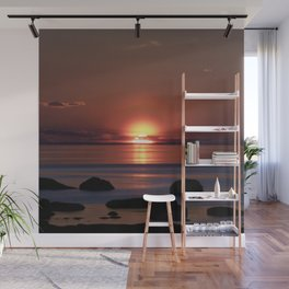 Shock-wave Sunset Wall Mural