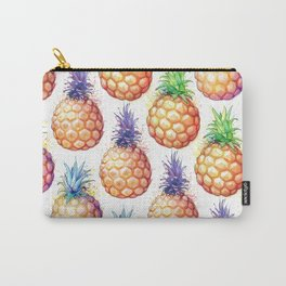 Fat Pineapples Pattern Carry-All Pouch