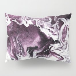 Fluid Expressions - Plums and Cream Pillow Sham