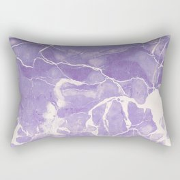 Ultraviolet Marble Rectangular Pillow