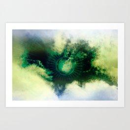 Karmic SOS Art Print