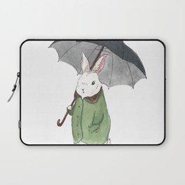 Mr. Tibbles Loves the Rain Laptop Sleeve