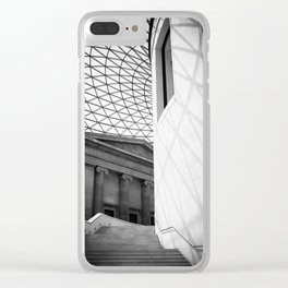 British Museum Clear iPhone Case