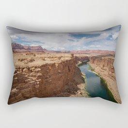 Colorado River from Navajo Bridge Rectangular Pillow