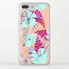 Lani Kai Tropical {G} Clear iPhone Case