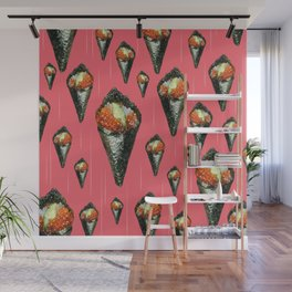 Hand Roll Wall Mural