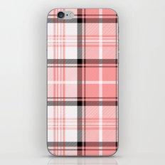 Pink Tartan iPhone & iPod Skin