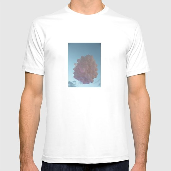 up up and away - balloons T-shirt