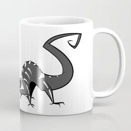 Spooky Skelelizard Coffee Mug