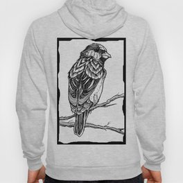 Two Sparrows by Sketchy Reputation Hoody