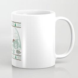 Fishing Christmas Coffee Mug