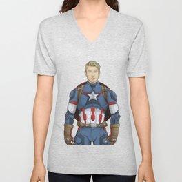 Oh Captain! My Captain! Unisex V-Neck