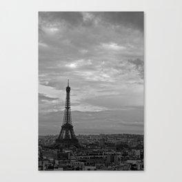 The Triomphe of Eiffel Canvas Print