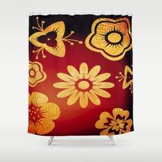Mi Flor Shower Curtain