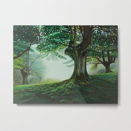 Fairy Tale Forest Metal Print