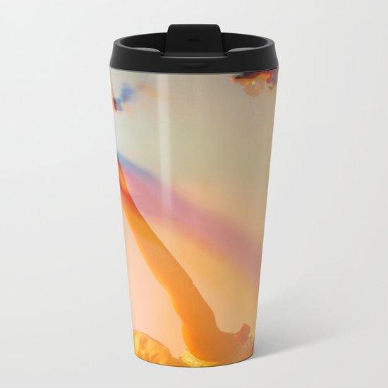Blooming Colors Metal Travel Mug