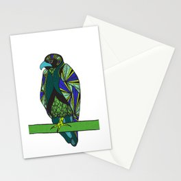 Abstract Falcon Stationery Cards