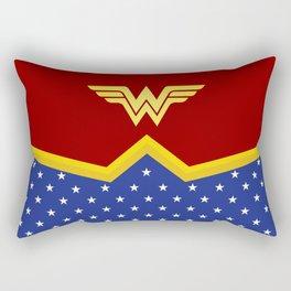 Wonder Of Woman - Superhero Rectangular Pillow