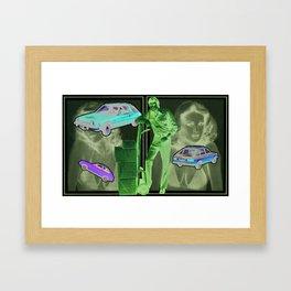 Pacer Framed Art Print