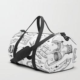 Fortune Teller Starter Pack Black and White Duffle Bag