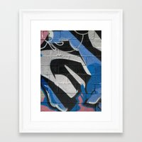 graffiti Framed Art Prints featuring Graffiti by Electric Avenue