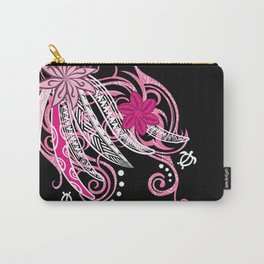 Pink Hawaii Tribal Threads Carry-All Pouch