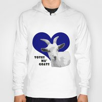 totes Hoodies featuring Totes Ma Goats - Blue by BACK to THE ROOTS