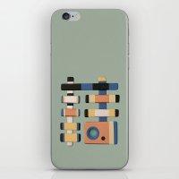 snake iPhone & iPod Skins featuring Snake by Rudolf Brancovsky