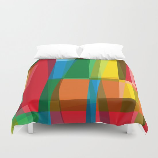 behind the colors Duvet Cover