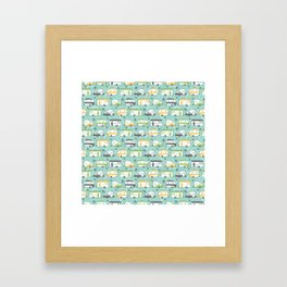 Happy Campers Framed Art Print