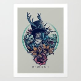 The Other Face Art Print