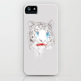 Animalfree circuses - Tiger iPhone Case