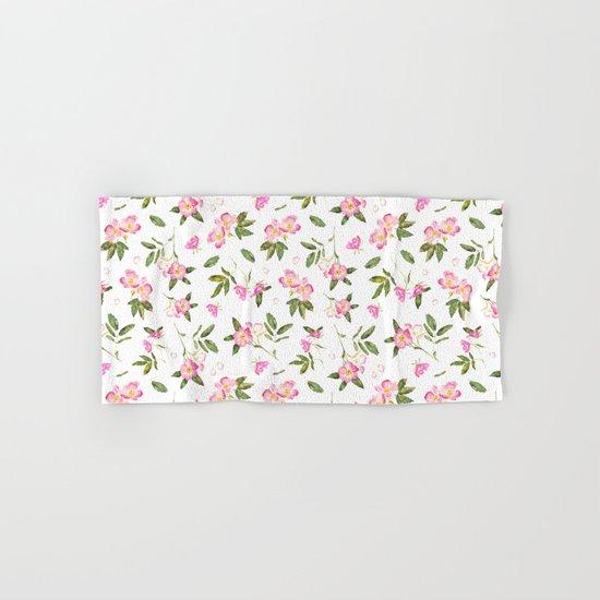 Wild roses Hand & Bath Towel